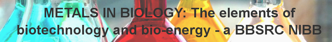 Metals in Biology, a BBSRC NIBB