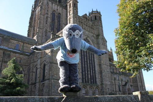 Durham Colleges Josehpine Butler Mole Mascot
