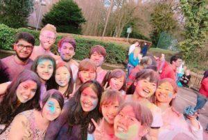 Durham Students holi festival