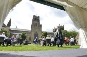 Graduation marquee