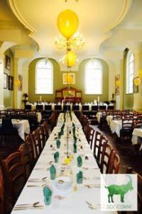St Chad's dining