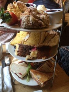 Tour of Durham Afternoon tea
