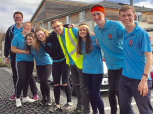 Van Mildert COllege Durham volunteers