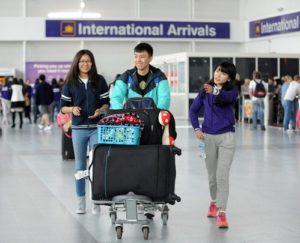 Durham University International students arrival