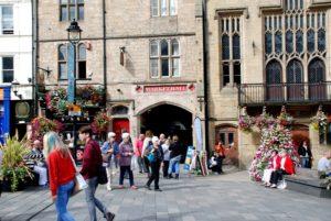 Durham Indoor Market entrance