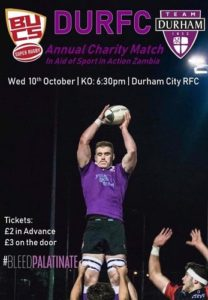 Palatinates Take On Exeter Tonight Show Your Support Durham