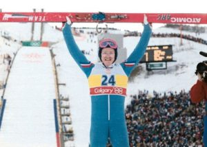 Eddie the eagle Durham