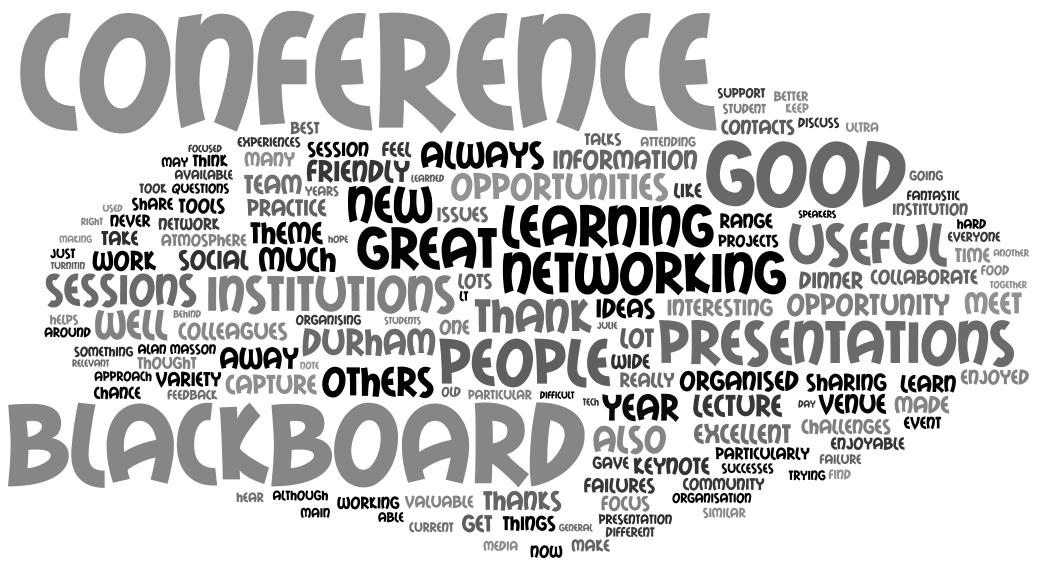 2018 Durham Blackboard User Conference – Key Messages ...