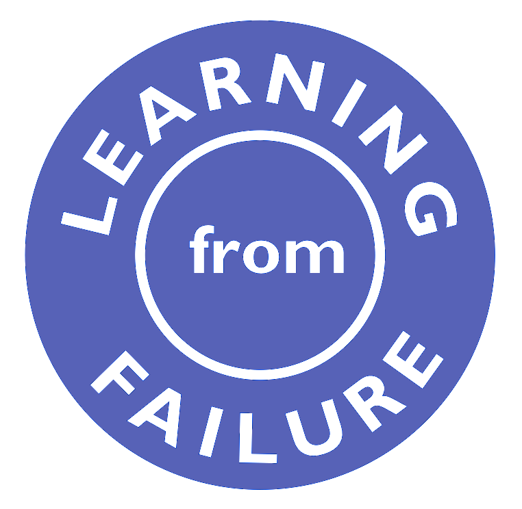 learning from failure Christian coon believes that a key to fruitful ministry is the ability to endure failure and learn from your mistakes.