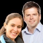 Simon Rees and Jess Sequera