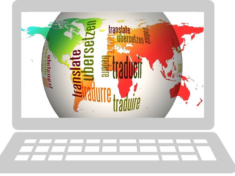 global languages in laptop