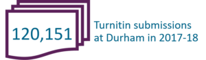 120,151 Turnitin submissions at Durham in 2017-18