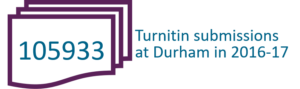105933 Turnitin submissions at Durham 16-17
