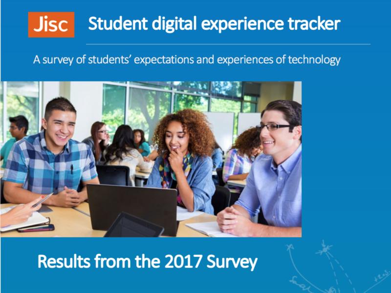 JISC Student Digital Experience Tracker