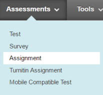 The Assignment Tool