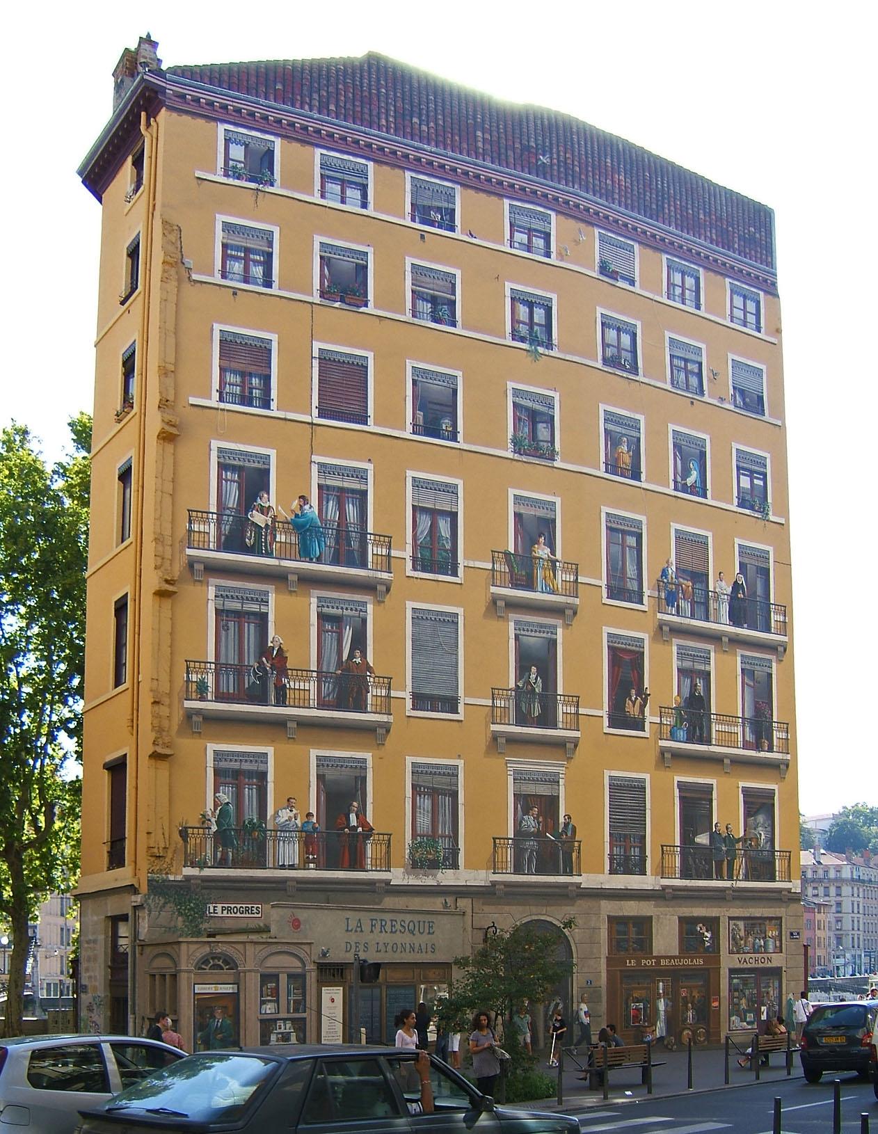 Lyon 2007 Presqu Ile
