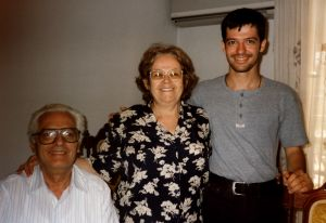 Dimitri and parents