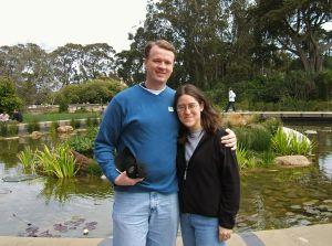 Mark & Lori outside De Young Museum