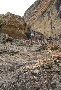 Sasso Croce ascent2