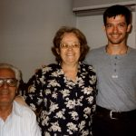 Dimitri and parents