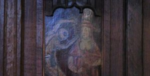 """Part of the """"Dance of Death"""", Hexham Abbey, by Mike Quinn. Reproduced under CC-BY-SA-2.0 licence."""