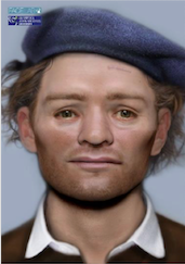 Face Lab – Facial depiction of one of the Scottish Soldiers