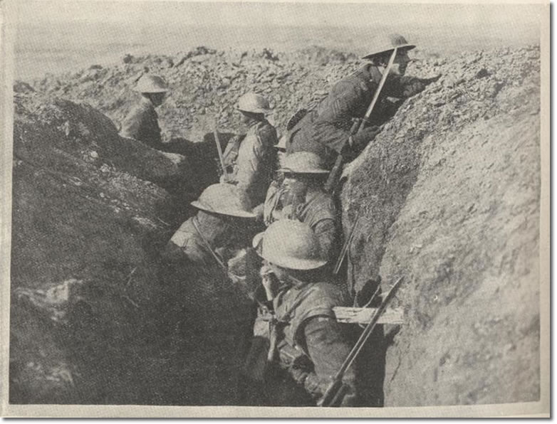 research papers of trench warfare