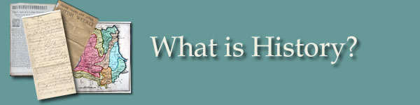 What is History?: Artefacts