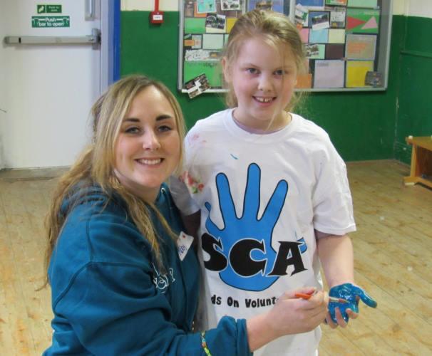 Student volunteering