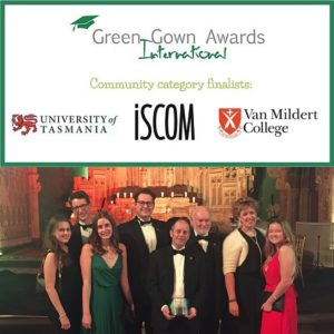 Van Mildert college DUrham Green Gown Awards
